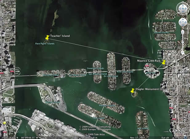 Monument and Teacher's Island